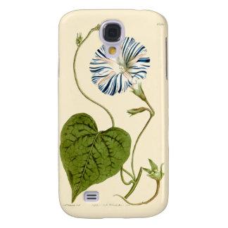 Morning Glory Blue Illustration Galaxy S4 Case