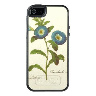 Morning Glory Blue Illustration OtterBox iPhone 5/5s/SE Case