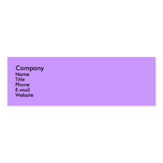 Morning Glory Double-Sided Mini Business Cards (Pack Of 20)