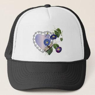 Morning Glory Dragonfly Trucker Hat