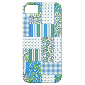 Morning Glory Faux Patchwork iPhone 5/5s Case