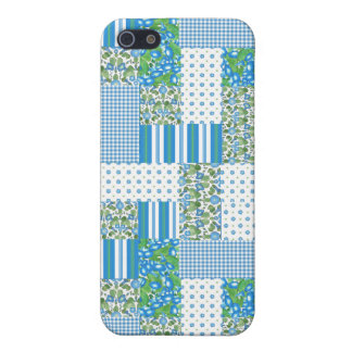 Morning Glory Faux Patchwork iPhone 5 Savvy Case