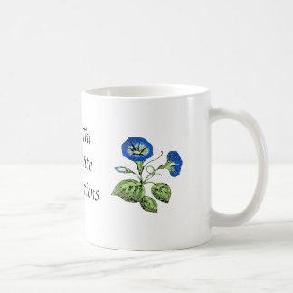 Morning Glory Start the Day with Affirmations Basic White Mug