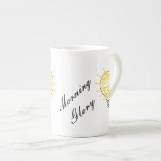 Morning Glory Tea Cup