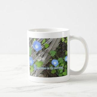 Morning Glory Watercolor Mugs