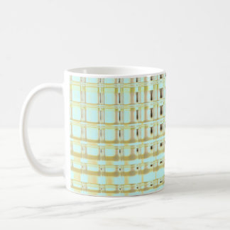 Morning Glow Glass Tiles Basic White Mug