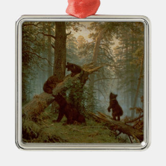 Morning in a Pine Forest, 1889 Christmas Ornament