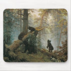 Morning in a Pine Forest Mouse Mat