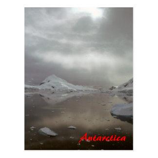 Morning in Antarctica postcard