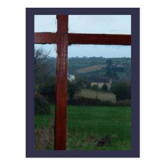 Morning in Cornwall Postcard