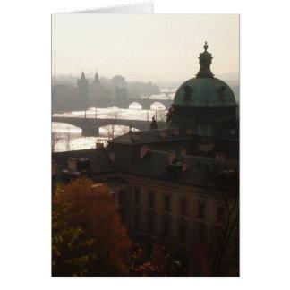 Morning in Prague Notecard (with envelopes)