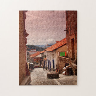 Morning In Taxco Street Jigsaw Puzzles