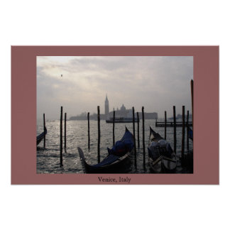 Morning in Venice Poster