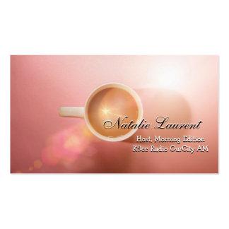 Morning Java Elegant  Professional Business Business Card Templates