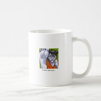 Morning kick basic white mug