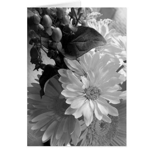 'Morning Light Bouquet' Blank Note Card