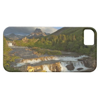 Morning light greets Swiftcurrent Falls in the iPhone 5 Cover