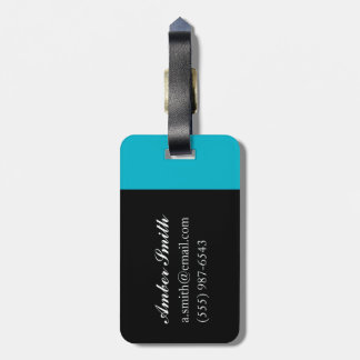 Morning light luggage tag