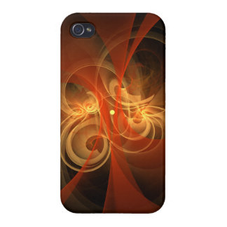 Morning Magic Abstract Art Cover For iPhone 4