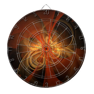Morning Magic Abstract Art Dartboard