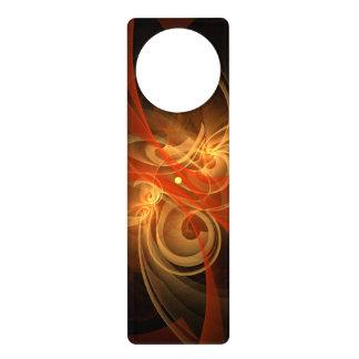 Morning Magic Abstract Art Door Hanger