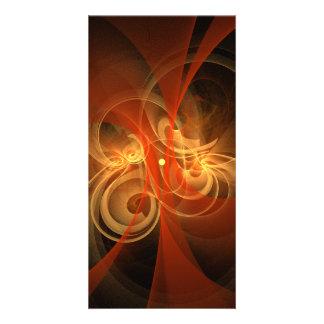 Morning Magic Abstract Art Photo Card