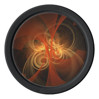 Morning Magic Abstract Art Poker Chips