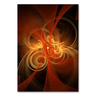 Morning Magic Abstract Art Table Card