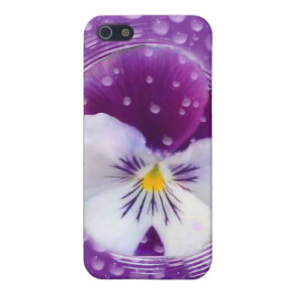 Morning Mist and Pansy Cover For iPhone 5/5S