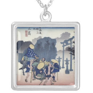 Morning Mist at Mishima Silver Plated Necklace