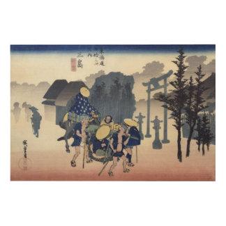 Morning Mist at Mishima Wood Wall Art