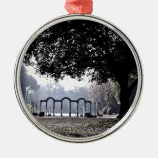 Morning mist at Ostia Christmas Ornament