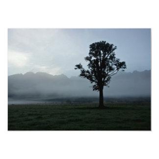 """Morning Mist • Card / Invitation 5"""" X 7"""" Invitation Card"""