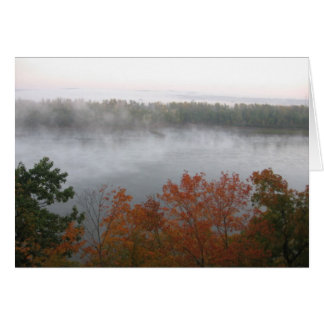 Morning Mist Note Card