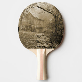 Morning Mist Ping Pong Paddle