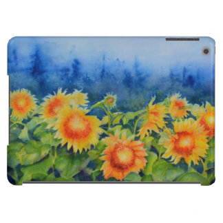 Morning MIst - sunflowers fields iPad Air Covers