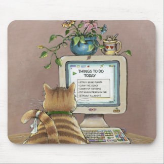 Morning Mouser Mouse Pad