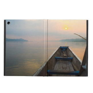 Morning off the lake with the boat iPad air cover