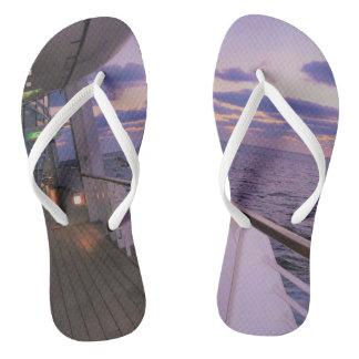 Morning on Board Flip Flops
