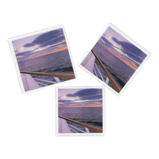 Morning on Deck Acrylic Tray