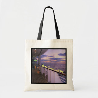 Morning on Deck Cruise with Me Tote Bag