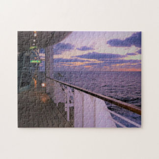 Morning on Deck Jigsaw Puzzle