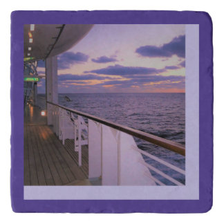 Morning on Deck Trivet
