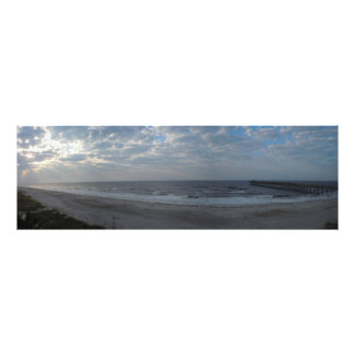 Morning on the Beach - Oak Island, NC Photograph