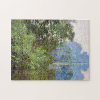 Morning on the Seine near Giverny Claude Monet Jigsaw Puzzle