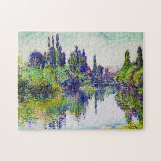 Morning on the Seine, near Vetheuil Claude Monet Jigsaw Puzzle