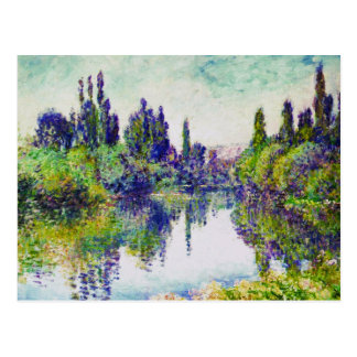 Morning on the Seine, near Vetheuil Claude Monet Postcard