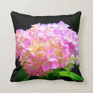 Morning Pink Whisper - Hydrangea Cushion
