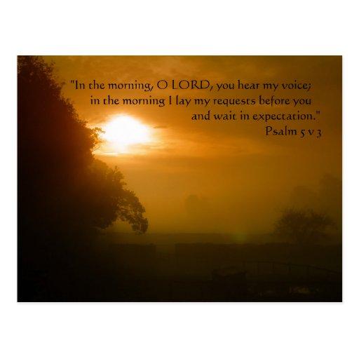 Morning Prayer | Post Cards