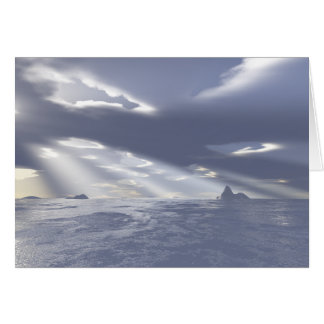morning rays greeting cards
